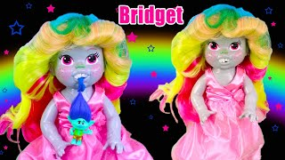 How To Make A Custom Bridget From Trolls Baby Alive Doll - DIY Custom Art Doll Repaint and Makeover