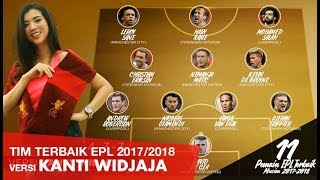 BEST PLAYER EPL 2017-2018