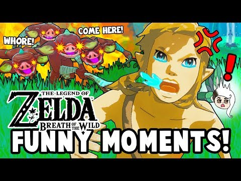TRIAL OF THE WHORE! (Zelda: Breath Of The Wild Funny Moments)