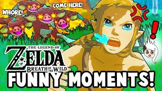 THE TRIAL OF THE WHORE! (Zelda: Breath Of The Wild Funny Moments)