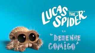 """Lucas a Aranha em """"Desenhe Comigo"""" Novo Episódio Dublado em Português"""