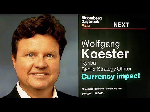 Kyriba on Bloomberg Daybreak Asia - Trends in Global Currency Volatility