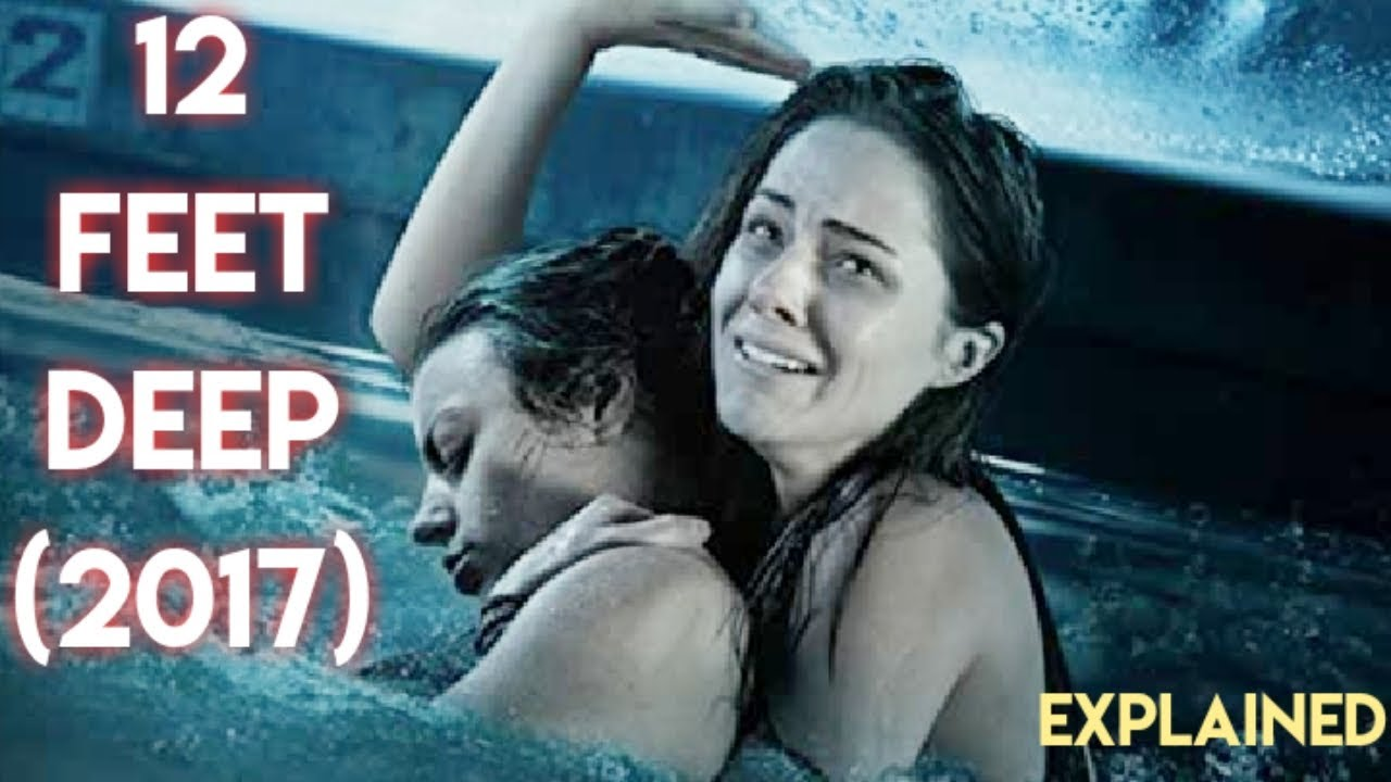 Download 12 FEET DEEP (2017) Ending Explained In Hindi | Hollywood Movies Explained In Hindi.