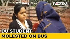 Man Masturbates In Bus, Delhi University Student Files FIR