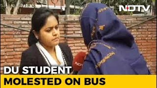 Man Masturbates In Bus, Delhi University Student Files FIR