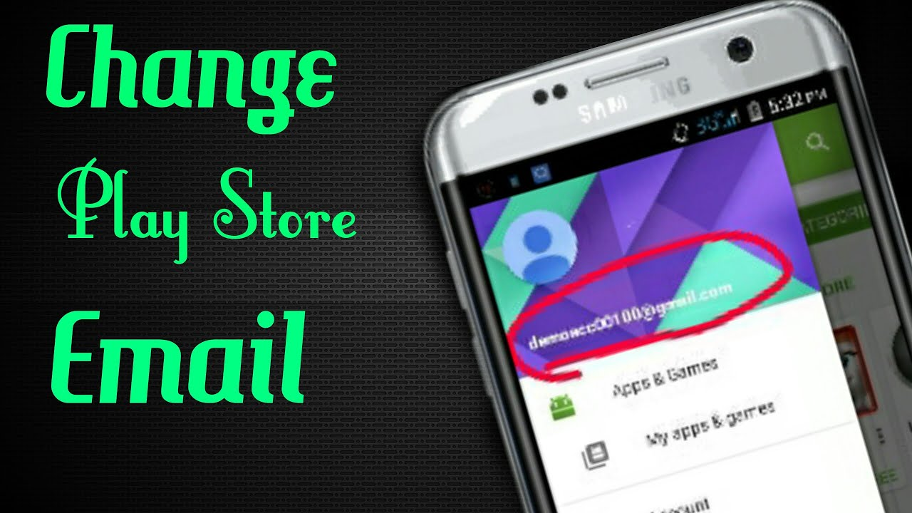 How to change google account for phone