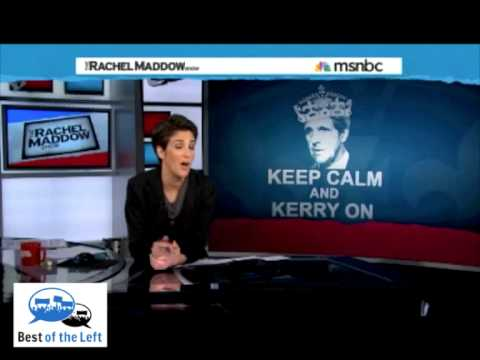 Kerry Nomination Moves Focus to Hagel at Defense - Rachel Maddow - Air Date 12-21-12