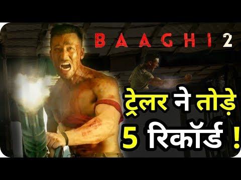 5 Social Media Records Made By Baaghi 2 Trailer Tiger Shroff