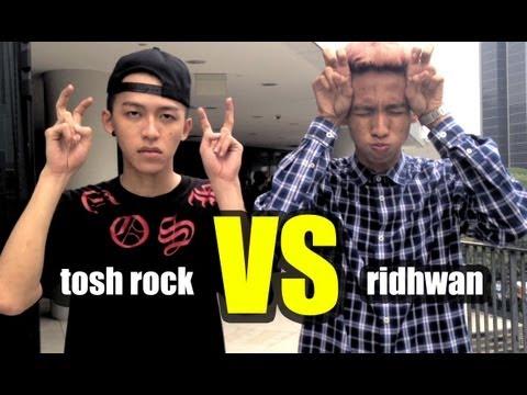 THE EPIC DANCE OFF: Tosh Rock VS Ridhwan