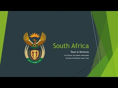 IMBA 562 A-Ventures South Africa Presentation