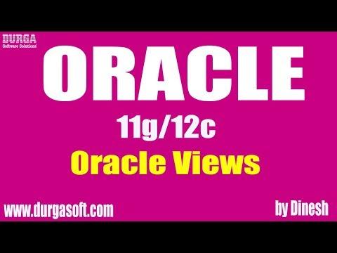 Oracle Views