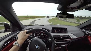 2019 BMW X4 M40i - BMW Performance Center POV Driving (Binaural Audio)