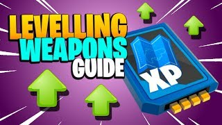 WEAPON LEVELLING GUIDE | Fortnite Save the World | Expeditions & Power Level Tips