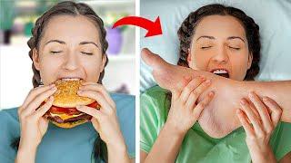 Когда девушка на диете