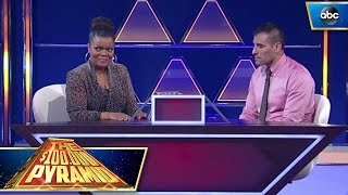 Yvette Nicole Brown ConcentrATEs For The Win - $100,000 Pyramid