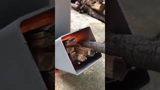 Home made Rocket Stove (Very Efficient)