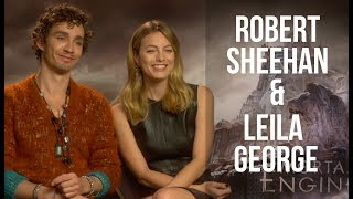 Interview - Robert Sheehan & Leila George talk Mortal Engines