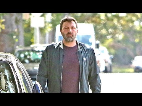 First Video Of Ben Affleck After Filing For Divorce From Jennifer Garner