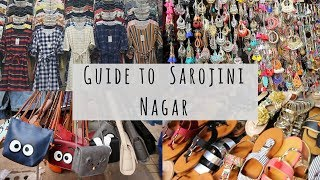 Sarojini Nagar Market | How to Shop in Sarojini Nagar | Tips and Tricks  | Summer Collection 2018