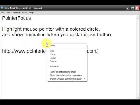 osb how to show mouse clicks