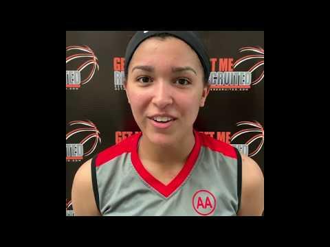 Maleia Bracone (Lady Team South Carolina/TL Hanna HS/Anderson, SC) 2020 5'10 G