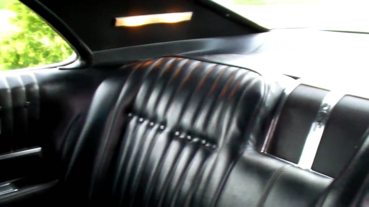1968 Olds Toronado Interior Youtube