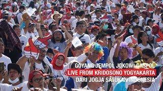 Gambar cover GOYANG JEMPOL JOKOWI GASPOL LIVE FROM KRIDOSONO YOGYAKARTA
