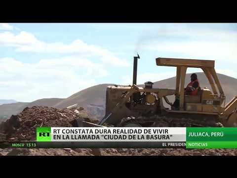¿Cómo es vivir en Juliaca, la 'ciudad peruana de la basura'?