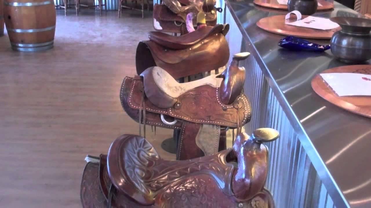 Horse Saddle Bar StoolsKrause Berry FarmsLangley BC