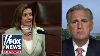 McCarthy: Pelosi is endangering Constitution to ensure her power