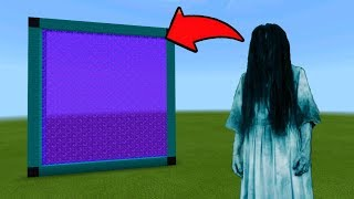 Minecraft Pe How To Make a Portal To The Ghost Girl Dimension - Mcpe Portal To Ghost Girl!!!