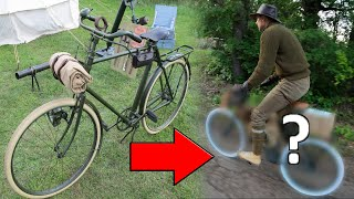 We tried to remake WW1/1920s Bicycles! (Test Ride)