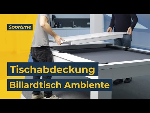 "Video: Automaten Hoffmann Billardtisch ""Ambiente in Natur 8ft"""