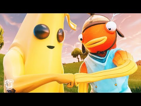 PEELY AND FISHSTICK BECOME BEST FRIENDS!! (A Fortnite Short Film)