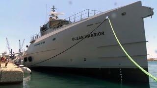 Ocean Warrior Launch / Tewaterlating Ocean Warrior