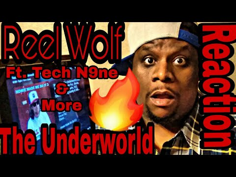 Reel wolf - The Underworld ft. Tech N9ne, & More (Official Audio) Reaction Request