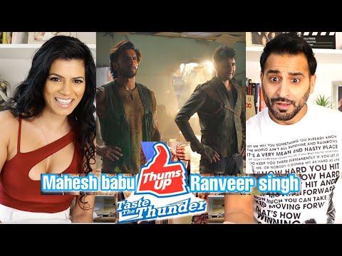 LAST MEN STANDING | Ranveer Singh | Mahesh Babu | Taste The Thunder | Thums Up | REACTION!!