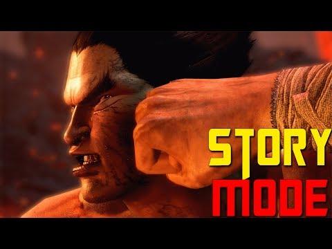 "Tekken 7 Story Mode ""The Mishima Saga"" (All Cutscenes + Monologue) [2K Resolution]"