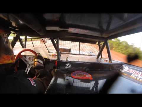 Brett McDonald Heat Race Lernerville Speedway 6/16/17 IN-CAR