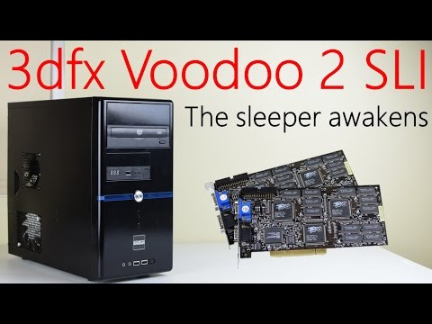3dfx Voodoo 2 SLI sleeper PC
