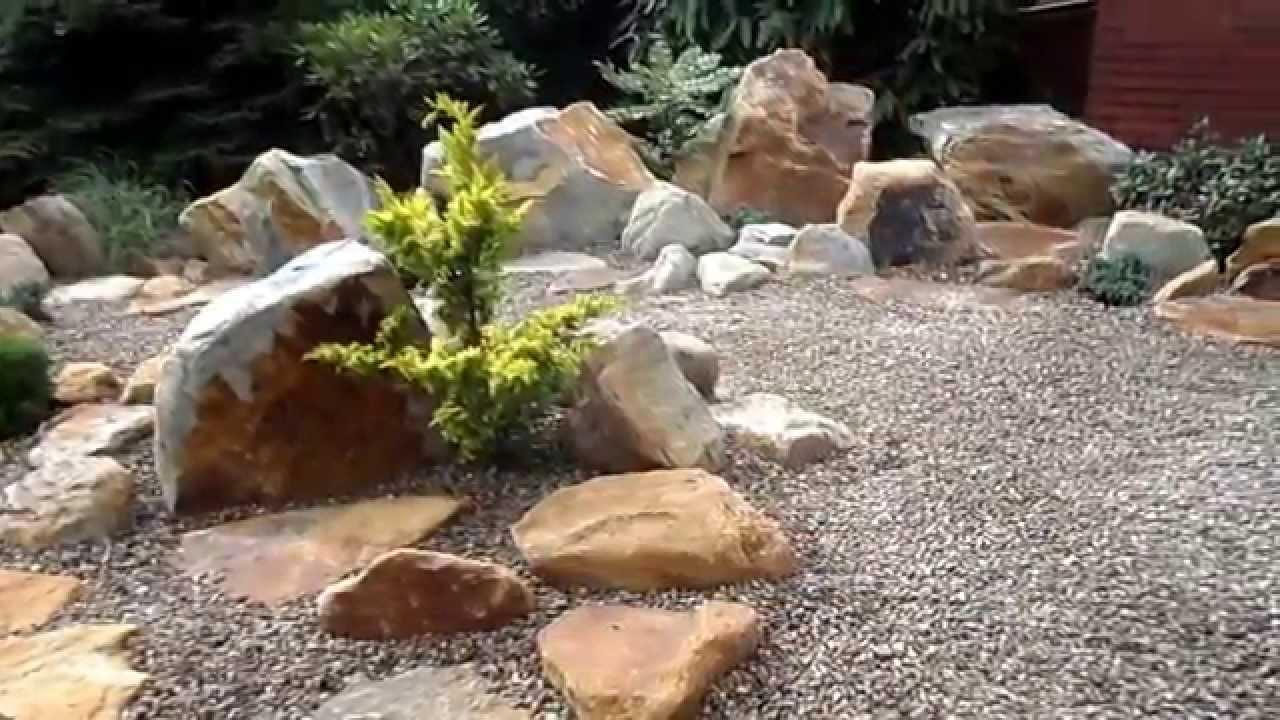 Steingarten Anlegen Anleitung Bilder : Ein Steingarten im Alpinen Stiel  YouTube