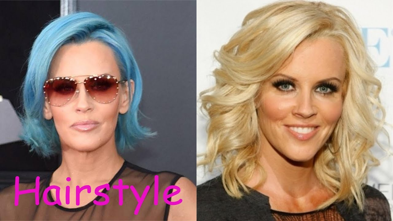 jenny mccarthy hairstyle (2018)
