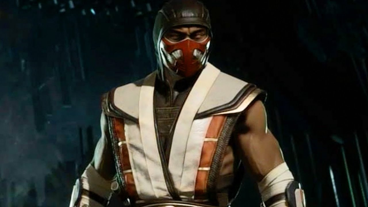 mortal kombat 11 scorpion without mask