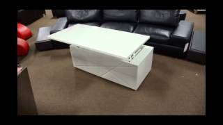 Modern Coffee Table With Storage | (866)397-0933 Lafurniturestore.com
