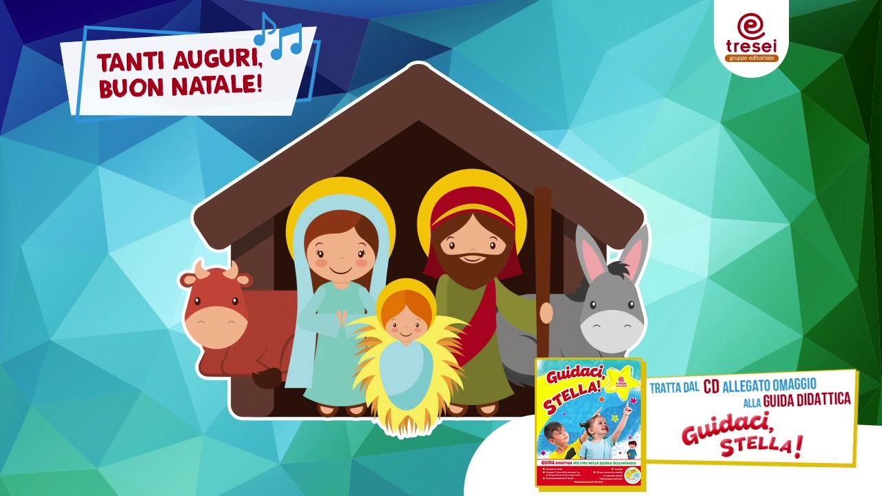 Canzone Auguriamoci Buon Natale.Tanti Auguri Buon Natale Canzone Con Testo Per Bambini Youtube
