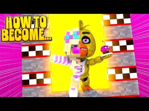 Minecraft HOW TO BECOME FNAF BABY CHICA IN REAL LIFE!!!