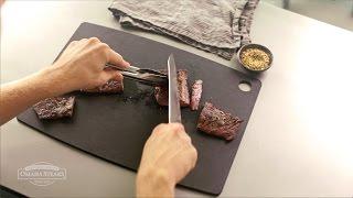 How to Slice a Skİrt Steak