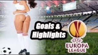 Eintracht Frankfurt vs Apollon Limassol - Goals & Highlights - Europa League