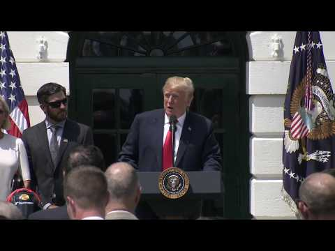 President Trump Hosts the NASCAR Cup Series Champion Martin Truex Jr. and Team