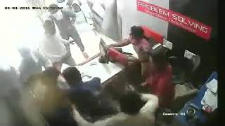 Fight at mobile care center HD